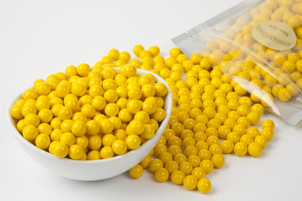 Golden Yellow Sixlets (1 Pound Bag)