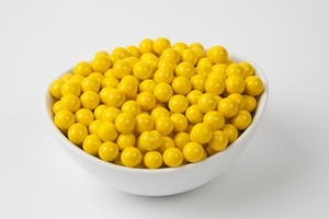 Golden Yellow Sixlets (10 Pound Case)