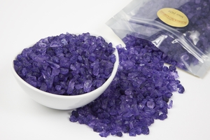 Grape Rock Candy Crystals (1 Pound Bag)