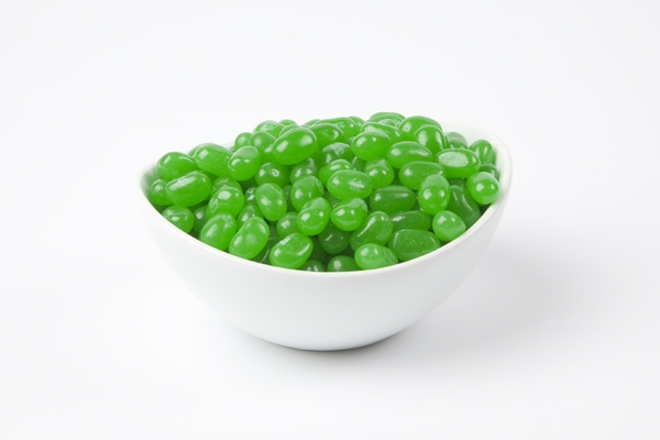 Green Apple Jelly Belly Jelly Beans (5 Pound Bag) - Green