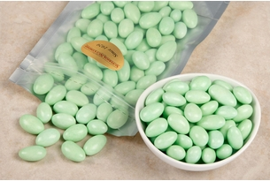 Green Jordan Almonds