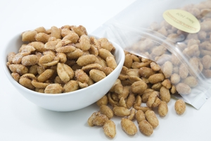 Honey Roasted Peanuts (1 Pound Bag)