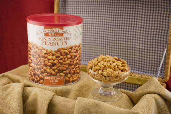 Honey Roasted Virginia Peanuts (4 Pound Can)