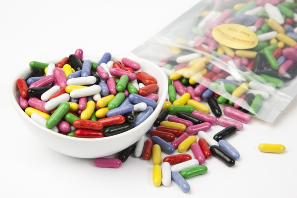 Licorice Pastels (1 Pound Bag)