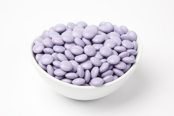 Light Purple  M&M's Candy (10 Pound Case)