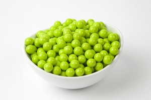 Lime Green Sixlets (10 Pound Case)