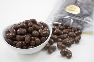 Milk Chocolate Covered Cashews (1 Pound Bag)