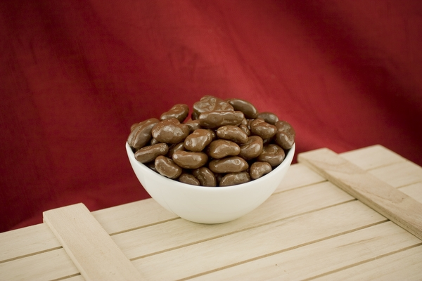 Milk Chocolate Covered Pecans (10 Pound Case)