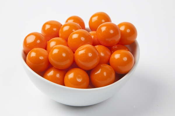 Orange Gourmet Gumballs (14 Pound Case)