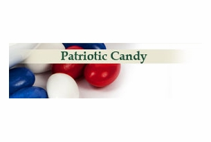 Patriotic Colors Candy