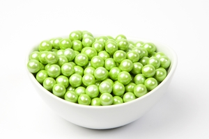 Pearl Lime Sixlets (4 Pound Bag)