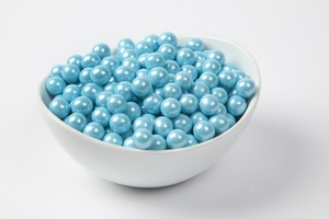 Pearl Powder Blue Sixlets (10 Pound Case)