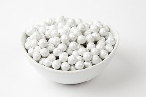 Pearl White Sixlets (4 Pound Bag)