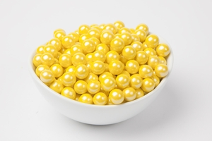 Pearl Yellow Sixlets (4 Pound Bag)