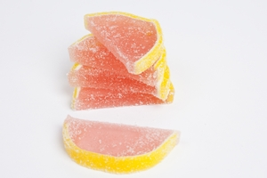 Pink Grapefruit Fruit Slices (5 Pound Bag)