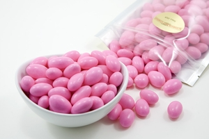 Pink Jordan Almonds (1 Pound Bag)