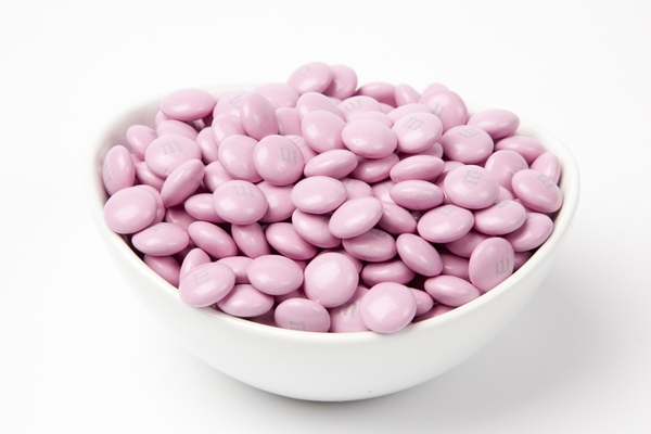 Pink  M&M's Candy (10 Pound Case)