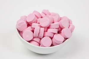 Pink Wintergreen Canada Mints (10 Pound Case)