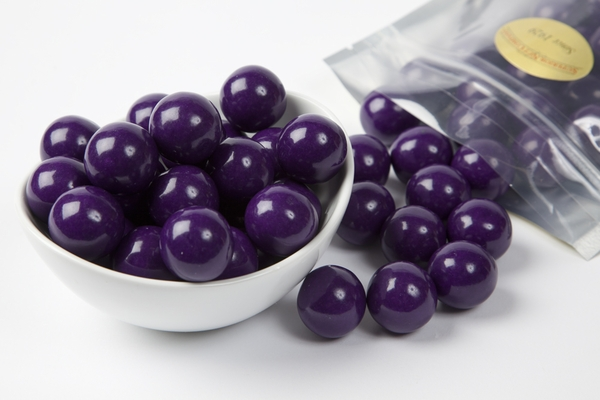 Purple Gourmet Gumballs (1 Pound Bag)
