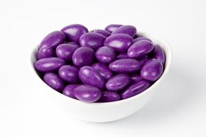 Purple Jordan Almonds (5 Pound Bag)