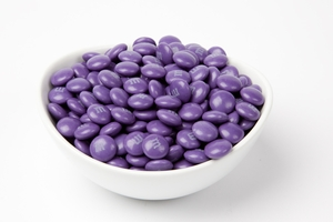 Purple  M&M's Candy (10 Pound Case)