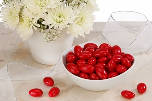 Red Jordan Almonds (5 Pound Bag)