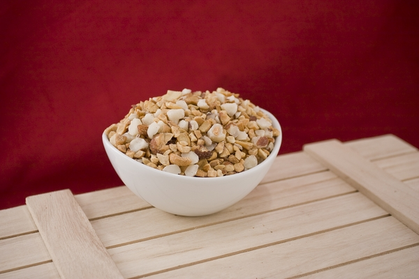 Roasted and Chopped Mixed Nuts (10 Pound Case)