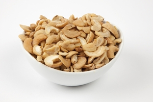 Roasted Cashew Halves (4 Pound Bag)