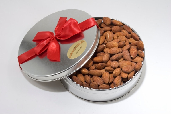 Roasted Jumbo California Almonds Gift Tin