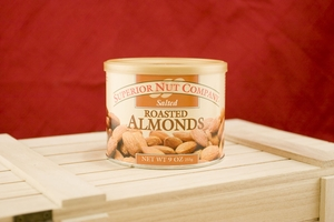 Salted Almonds, 9oz Canisters (Pack of 3)