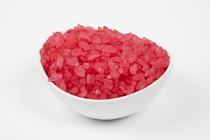 Strawberry Rock Candy Crystals (5 Pound Bag)
