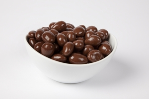 Sugar-Free Chocolate Covered Almonds (10 Pound Case)