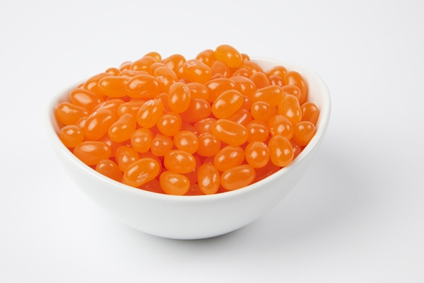 Sunkist Tangerine Jelly Belly Jelly Beans (5 Pound Bag) - Orange