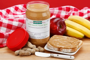 Superior Nut Peanut Butter (2.5 Pound Jar)