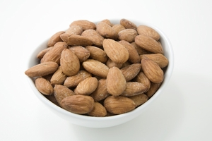 Unsalted Dry Roasted Almonds (4 Pound Bag)