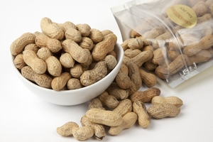 Unsalted In-Shell Peanuts (1 Pound Bag)