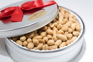 Virginia Party Peanuts Gift Tin