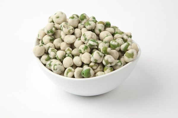 how to cook wasabi peas