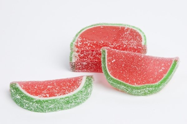 Watermelon Fruit Slices (10 Pound Case)