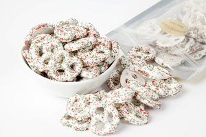 White Christmas Pretzels (14 oz Bag)