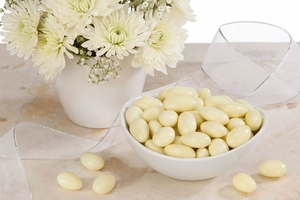 Yellow Jordan Almonds (5 Pound Bag)