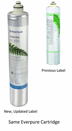 EV9270-72 Pentair Everpure H-300 Water Filter Cartridge # EV927071 / EV927072