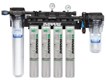 EV9437-10 Pentair Everpure High Flow CSR Quad-MC(2) Water Filtration System # EV943710 / EV943711