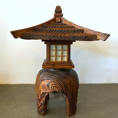 American Mid Century Asian Style Table Lamp