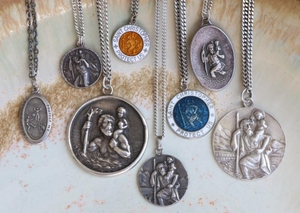 Authentic Vintage St Christopher Pendants