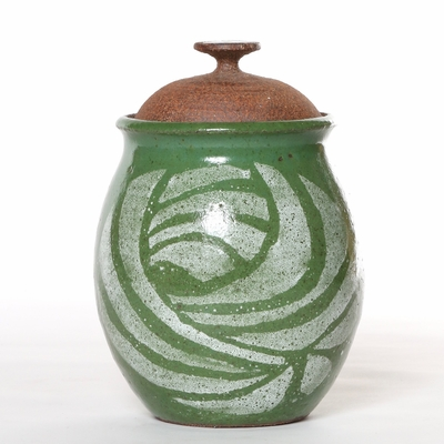 Brent Bennett Studio Ceramic Jar with Lid