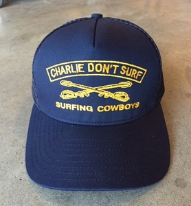 Charlie Don't Surf Surfing Trucker Hat
