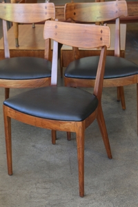 Set of 4 Dining Chairs, Kipp Stewart and Stewart MacDougall for Drexel, 1950s