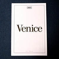 Indoek Venice Issue, 84-page Large Format Newsprint Zine