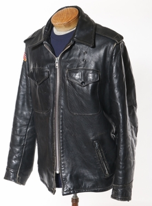 Men's Leather Perfecto Motorcycle Jacket by Schott 1970's
